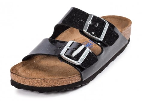 Chaussures Birkenstock Arizona Magic Galaxy noire vue avant