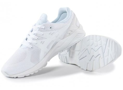 Chaussures Asics Gel Kayano Trainer Evo blanche vue intérieure