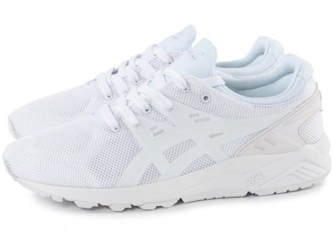 Chaussures Asics Gel Kayano Trainer Evo blanche vue extérieure