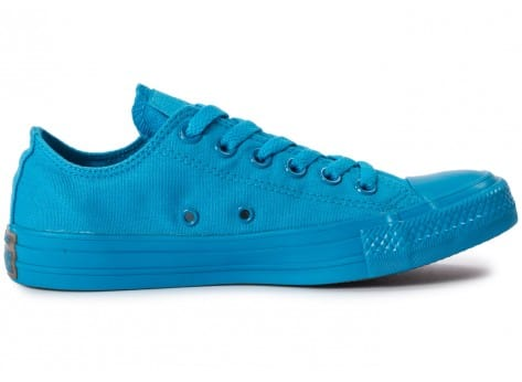 Chaussures Converse Chuck Taylor All Star Mono OX Paint blue vue dessous