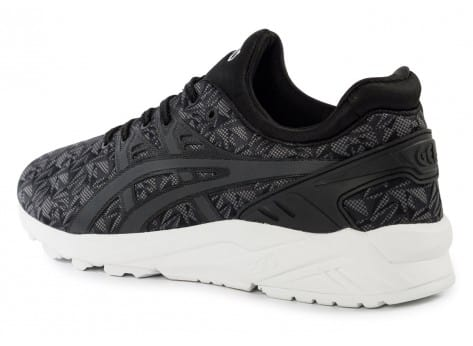 Chaussures Asics Gel Kayano Trainer Evolution Origami anthracite vue arrière