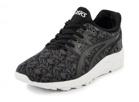 Chaussures Asics Gel Kayano Trainer Evolution Origami anthracite vue avant