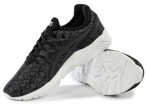 Chaussures Asics Gel Kayano Trainer Evolution Origami anthracite vue intérieure