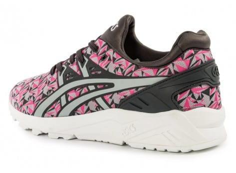 Chaussures Asics Gel Kayano Trainer Evo Origami rose vue arrière