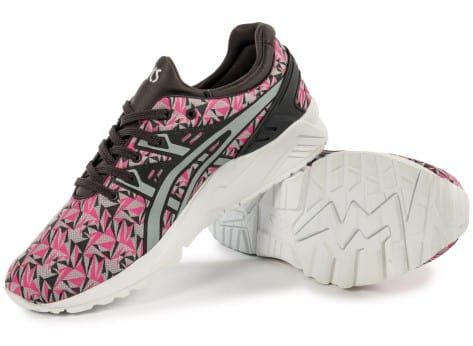 Chaussures Asics Gel Kayano Trainer Evo Origami rose vue intérieure