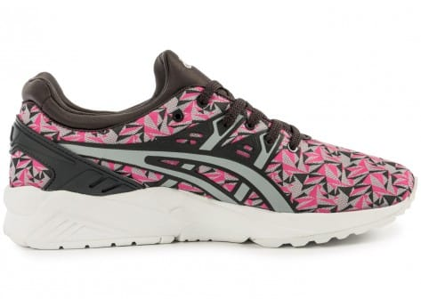 Chaussures Asics Gel Kayano Trainer Evo Origami rose vue dessous