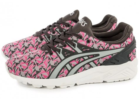 Chaussures Asics Gel Kayano Trainer Evo Origami rose vue extérieure