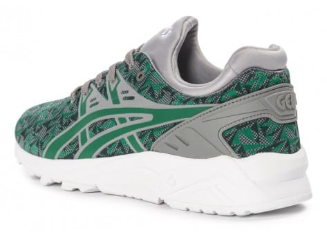 Chaussures Asics Gel Kayano Trainer Evo Origami Vert vue arrière