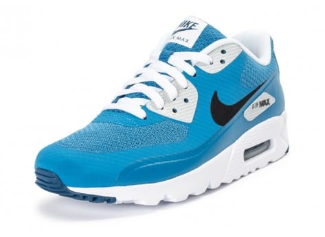 Chaussures Nike Air Max 90 Ultra Essential bleue vue avant
