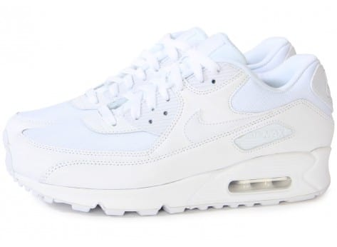baton salomon - nike air max 90 blanche essentielle