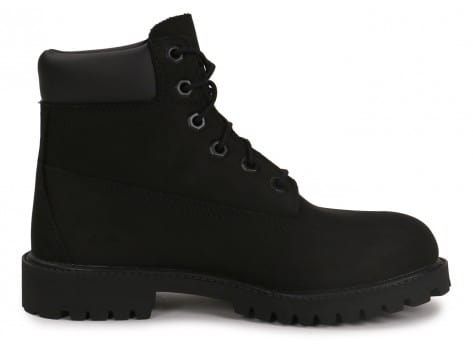 Chaussures Timberland 6-Inch Premium Boot Junior noire vue dessous