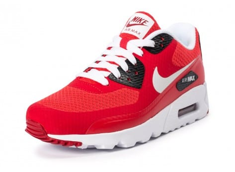 Chaussures Nike Air Max 90 Ultra Essential rouge vue arrière