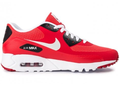 Chaussures Nike Air Max 90 Ultra Essential rouge vue intérieure