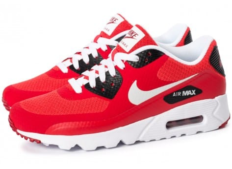 Chaussures Nike Air Max 90 Ultra Essential rouge vue extérieure