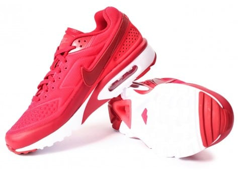 Chaussures Nike Air Max BW Ultra SE rouge vue intérieure