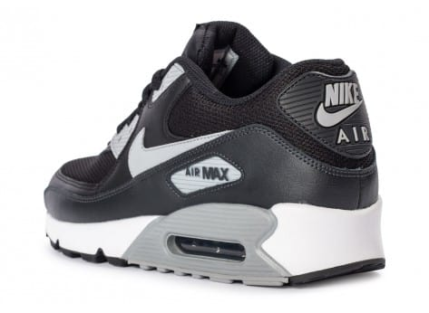 Chaussures Nike Air Max 90 Essential black wolf grey vue arrière