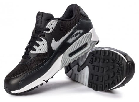Chaussures Nike Air Max 90 Essential black wolf grey vue intérieure
