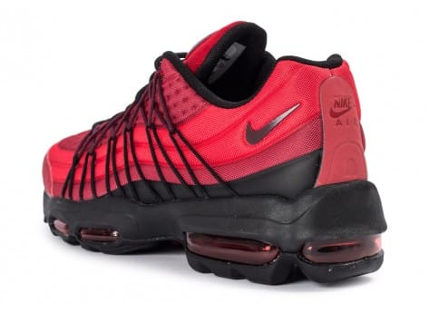 Chaussures Nike Air Max 95 Ultra SE rouge vue arrière