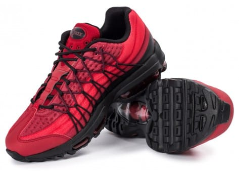 Chaussures Nike Air Max 95 Ultra SE rouge vue intérieure