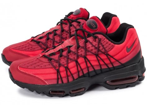 Chaussures Nike Air Max 95 Ultra SE rouge vue extérieure