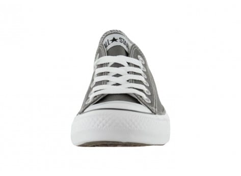Chaussures Converse Chuck Taylor All Star basse grise vue avant