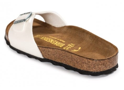 Chaussures Birkenstock Madrid Magic Galaxy blanche vue arrière