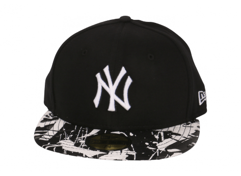 Casquettes New Era Casquette Fitted July Jersey noire