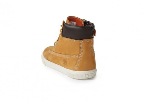Chaussures Timberland Earthkeepers Enfant Beige vue arrière