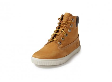 Chaussures Timberland Earthkeepers Enfant Beige vue avant