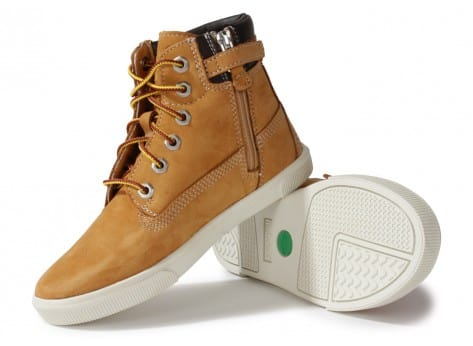 Chaussures Timberland Earthkeepers Enfant Beige vue intérieure