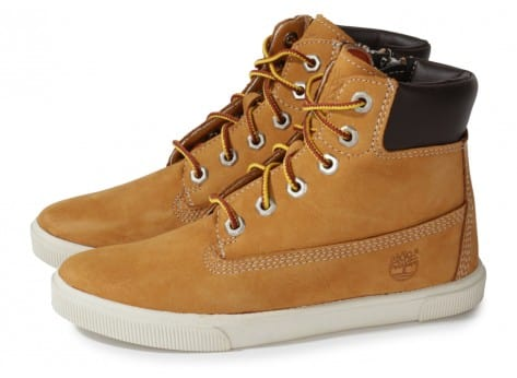 Chaussures Timberland Earthkeepers Enfant Beige vue extérieure