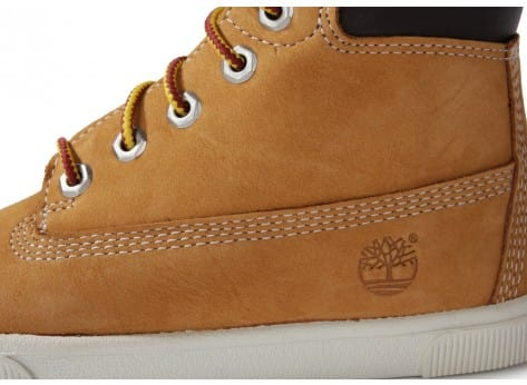 Chaussures Timberland EARTHKEEPERS ENFANT BEIGE vue dessus