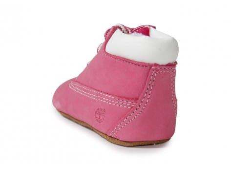 Chaussures Timberland Pack Boots 6-inch Crib Bonnet Rose vue avant