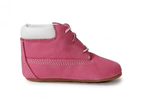 Chaussures Timberland Pack Boots 6-inch Crib Bonnet Rose vue arrière