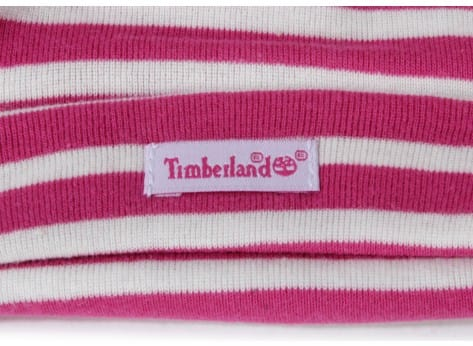 Chaussures Timberland Pack Boots 6-inch Crib Bonnet Rose vue dessous