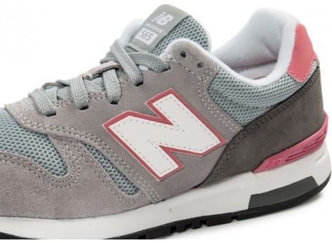 Chaussures New Balance WL565 GT grise vue dessus