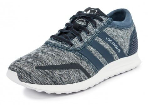 Chaussures adidas Los Angeles W bleue vue avant