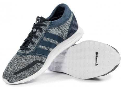 Chaussures adidas Los Angeles W bleue vue intérieure