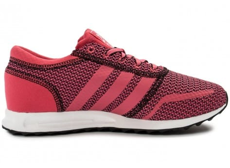 Chaussures adidas Los Angeles rose vue dessous