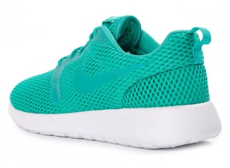 Chaussures Nike Roshe One Hyperfuse BR vert vue arrière