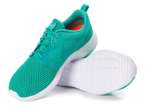Chaussures Nike Roshe One Hyperfuse BR vert vue intérieure