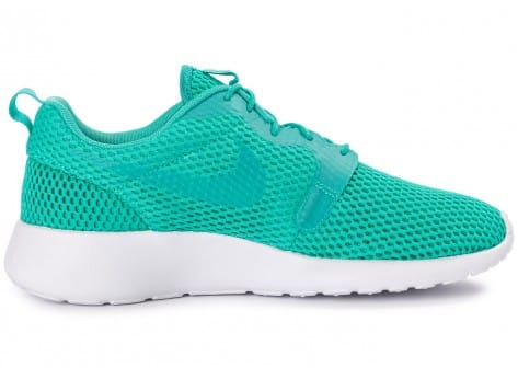 Chaussures Nike Roshe One Hyperfuse BR vert vue dessous