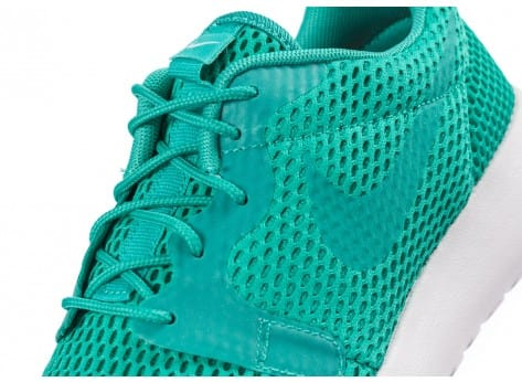Chaussures Nike Roshe One Hyperfuse BR vert vue dessus