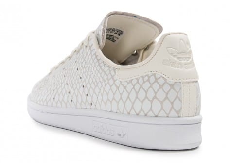 Chaussures adidas Stan Smith Snake blanche vue arrière