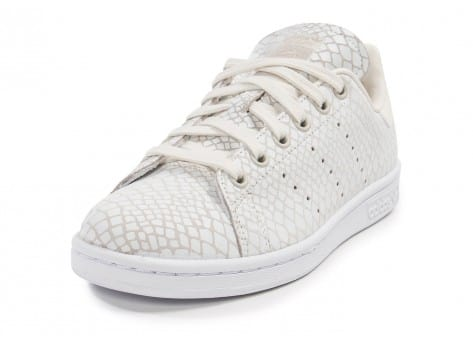 Chaussures adidas Stan Smith Snake blanche vue avant