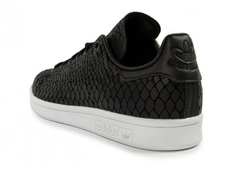 Chaussures adidas Stan Smith Snake noire vue arrière