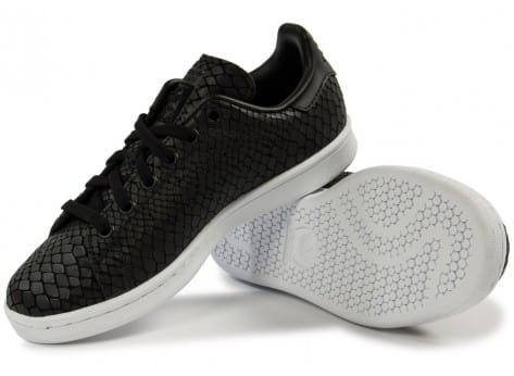 Chaussures adidas Stan Smith Snake noire vue intérieure