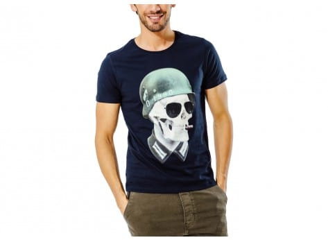 Tee-shirt Jack & Jones T-Shirt Cloud Soldat Bleu marine