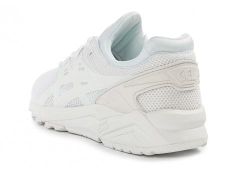 Chaussures Asics Gel Kayano Trainer Evo F blanche vue arrière