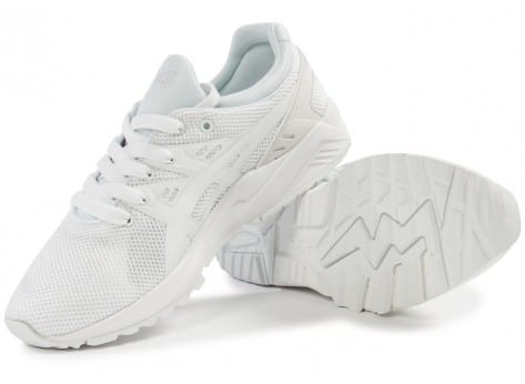 Chaussures Asics Gel Kayano Trainer Evo F blanche vue intérieure